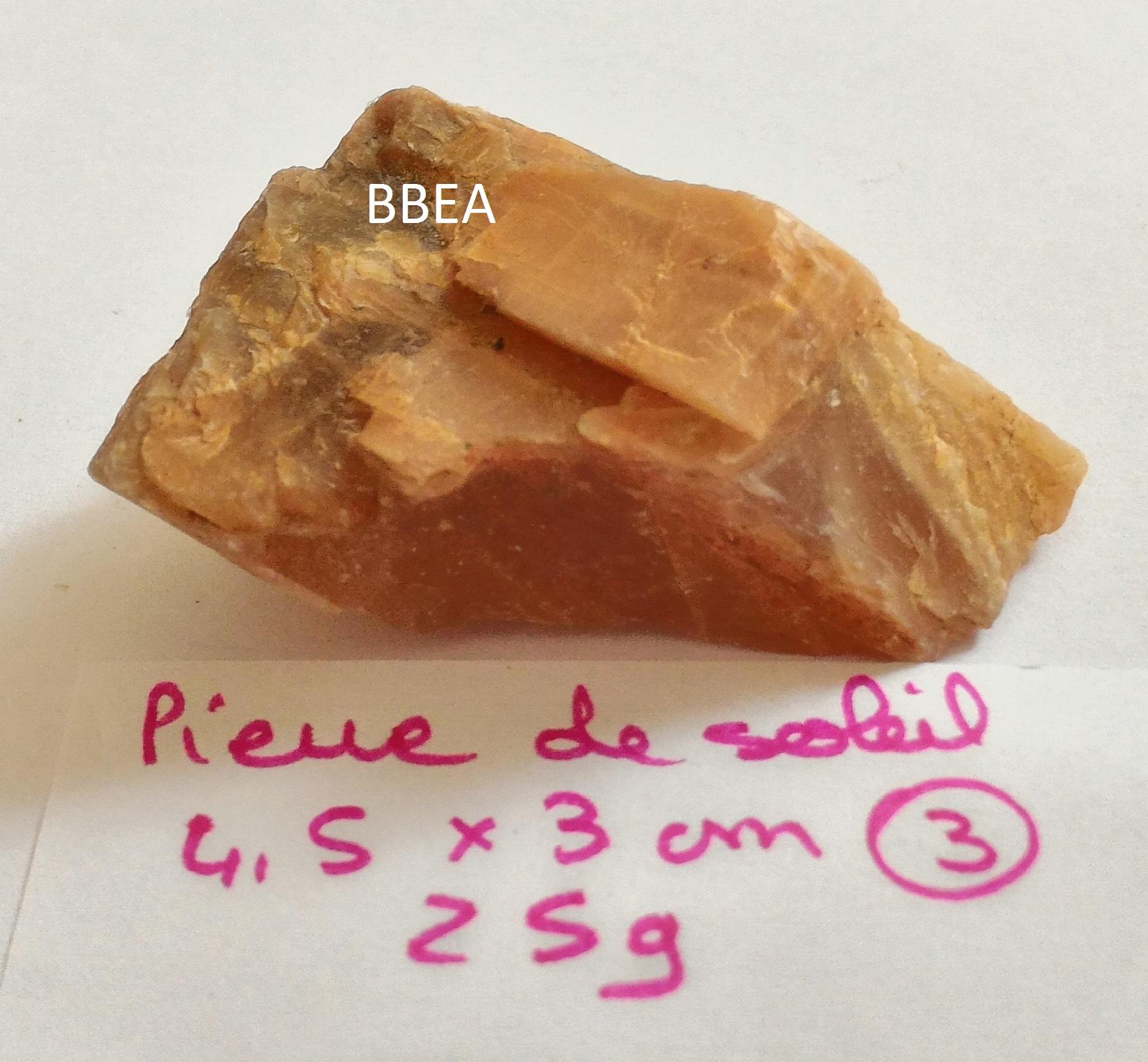 Pierre de soleil 25g 4 5x3cm 2