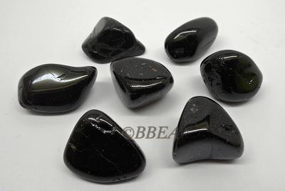 Pierres roulees obsidienne noires 4059