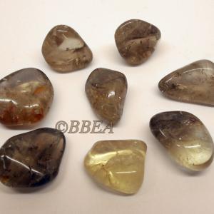 Pierres roulees quartz fumee 4053