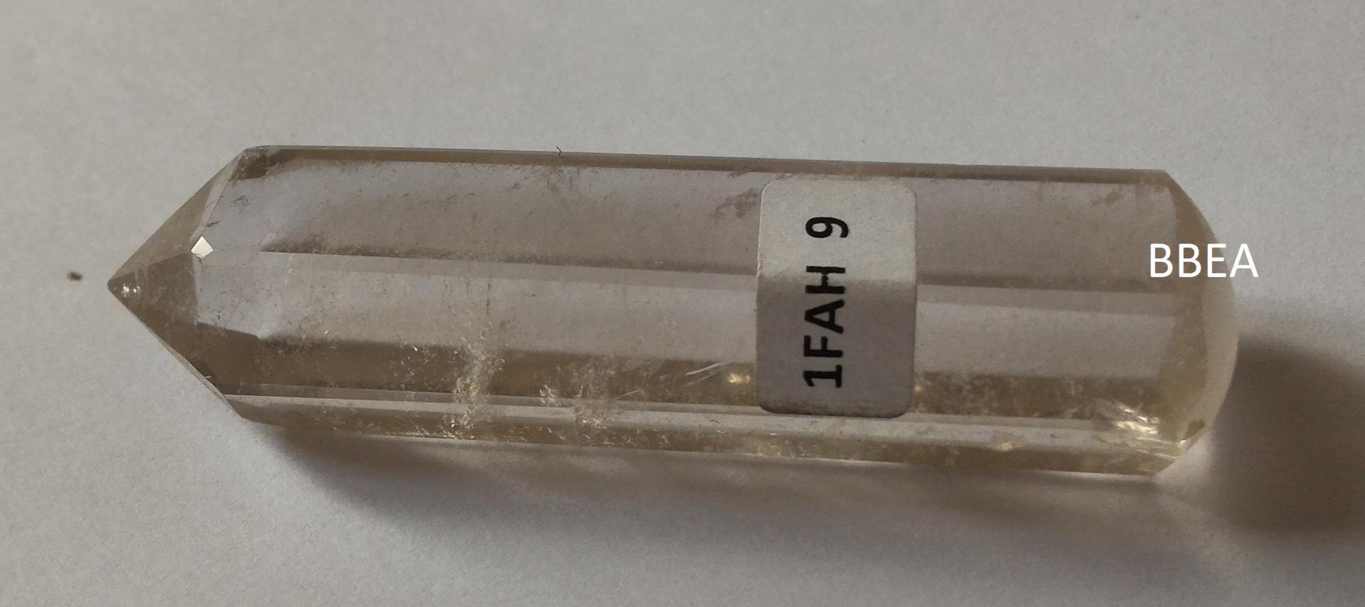 Pointe en cristal 7 5cm