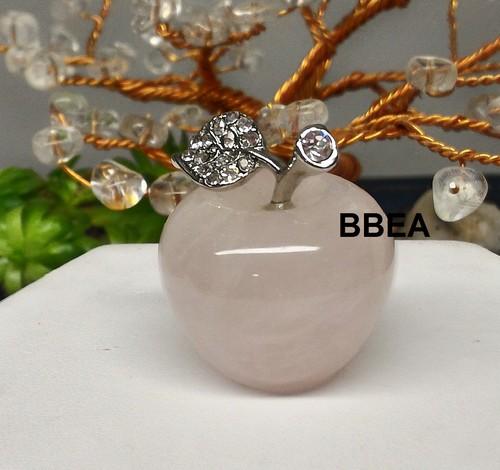 Pomme quartz rose 1
