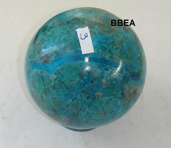 Sphere chrysocolle 3 1