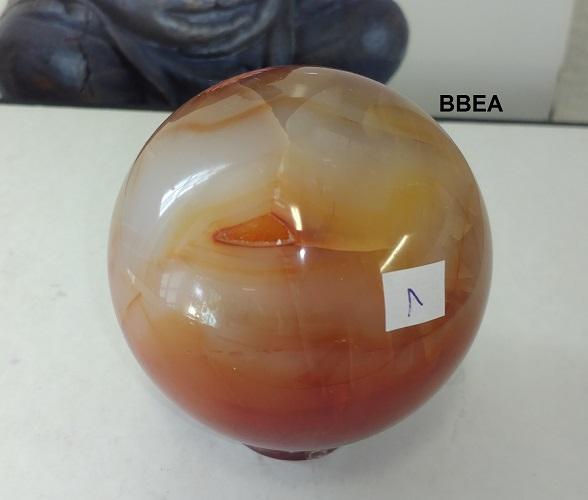 Sphere cornaline