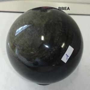 Sphere obsidienne doree 1